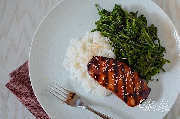 """<strong>Get the <a href=""""http://thechiclife.com/2013/06/ginger-soy-grilled-chicken-only-3-ingredients-recipe.html"""">Ginger Soy"""