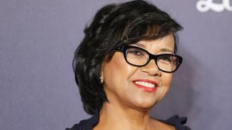 LOS ANGELES, CA - DECEMBER 06:  Cheryl Boone Isaacs arrives at The Music Center's 50th Anniversary Spectacular held at Dorothy Chandler Pavilion on December 6, 2014 in Los Angeles, California.  (Photo by Michael Tran/FilmMagic)