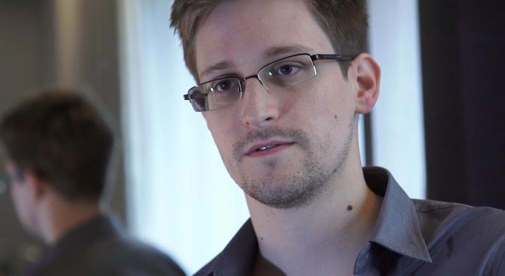 Edward Snowden, an NSA whistleblower, is critical of Hillary Clinton's use of a private e-mail server as Secretary of State.