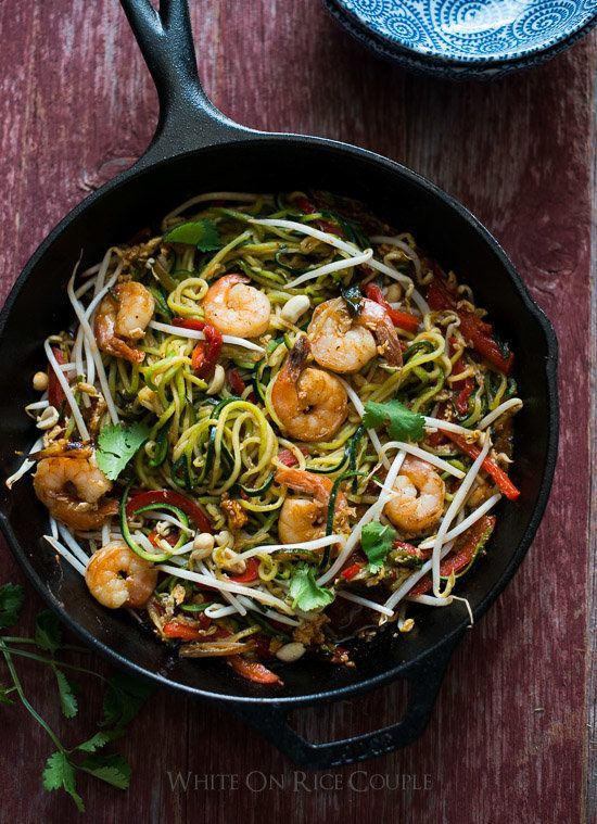 thai recipe zucchini pad noodle Noodle All Pasta About Zucchini That'll Make Forget Recipes You
