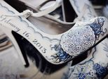 Hand-Painted Wedding Shoes Are An Indie Bride's Dream Come True