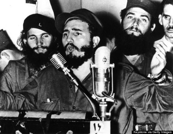 Castro was sworn in as prime minister of Cuba in 1959.