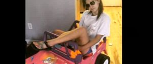 TARA MONROE BARBIE JEEP