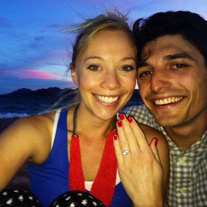 """<p><span style=""""font-family: Arial, Helvetica, sans-serif; font-size: 14px; line-height: 20px; background-color: #eeeeee;"""">Derek and Jenna after the proposal</span></p>"""