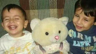 <p>Aylan Kurdi and his older brother Galip.</p>
