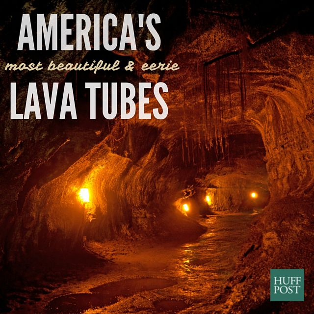 7 Of America's Most Eerily Beautiful Lava Tubes