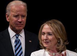HUFFPOLLSTER: Clinton Ratings Fall, Biden Gets A Bump