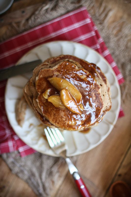 """<strong>Get the <a href=""""http://www.adventures-in-cooking.com/2013/01/buttermilk-apple-pancakes-with-apple.html"""" target=""""_bla"""