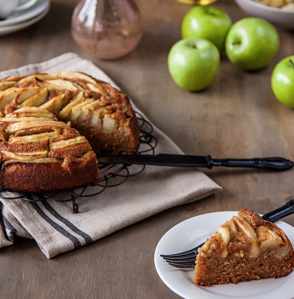 "<strong>Get the <a href=""http://www.deliciouseveryday.com/apple-cider-cake/"" target=""_blank"">Apple Cider Cake recipe</a> from"