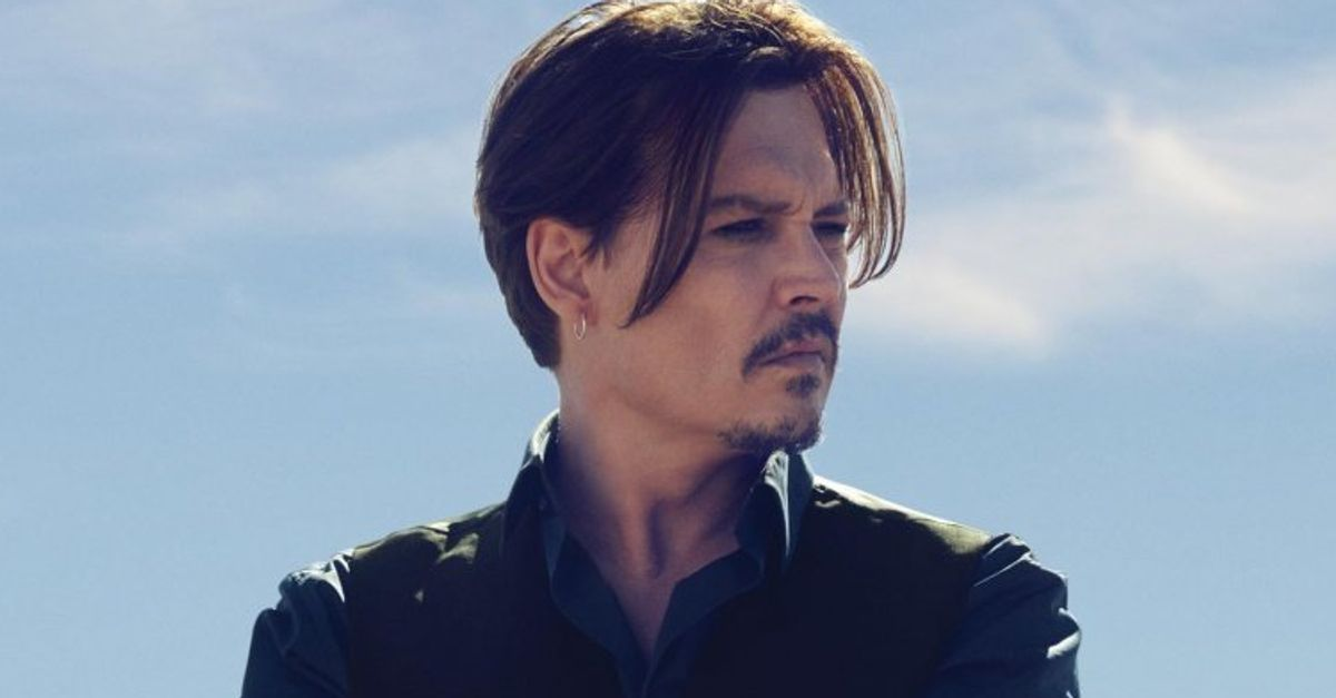 Johnny Depp Is Dior's Latest And Greatest Model, Because Duh