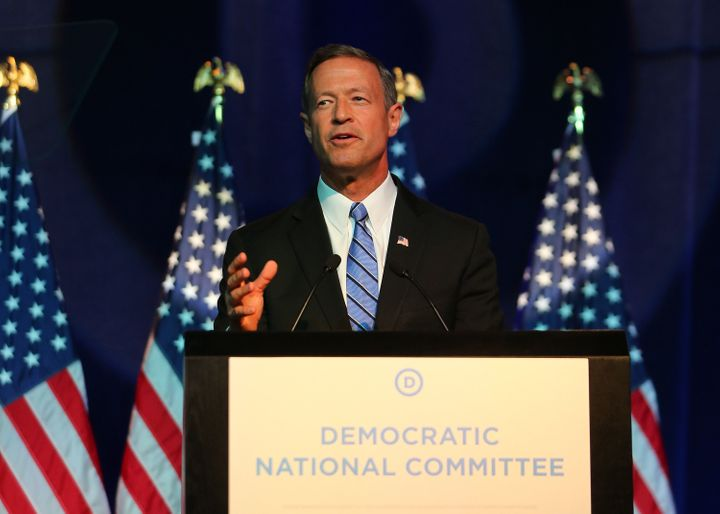 Democratic presidential candidate Martin O'Malley said Friday that the U.S. should take in at least 65,000 Syrian refugees.