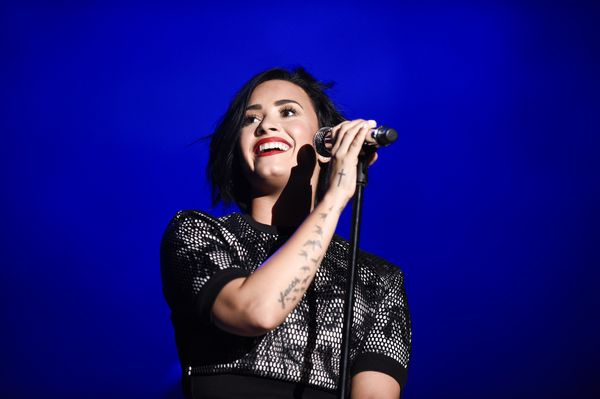 """In 2013, the """"Cool For The Summer"""" singer opened up to<a href=""""http://www.lifeandstylemag.com/posts/demi-lovato-talks-f"""