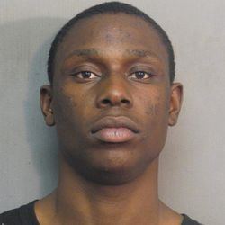 27-year-old Jerrol Harris is suspected of shooting a man in the arm and firing at police.
