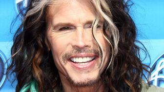 HOLLYWOOD, CA - MAY 13:  Singer Steven Tyler attends the 'American Idol' XIV grand finale at Dolby Theatre on May 13, 2015 in Hollywood, California.  (Photo by Tommaso Boddi/WireImage)