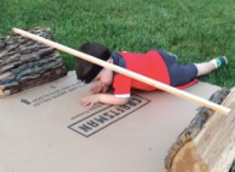 Toddler Conquers Dad's 'American Ninja' Course Like A Warrior