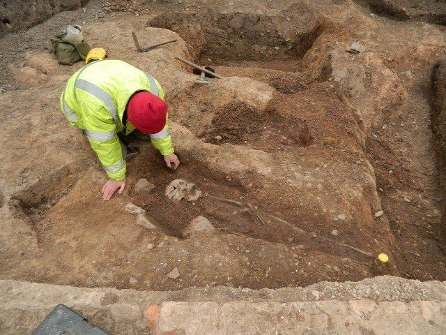 Under yet another parking lot in England, the same team that found the final resting place of King Richard III discovered an