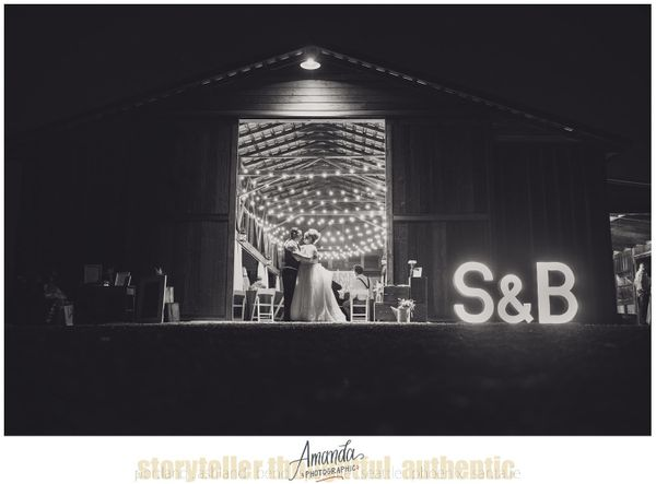 """""""Ben and Sarah had a beautiful country chic wedding in this fully restored barn in Shedd, Oregon."""" - AmandaLong"""