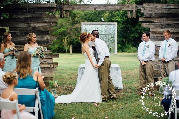 """""""Wedding outside of Austin at Cedar Bend Events."""" - Carley Minniear"""
