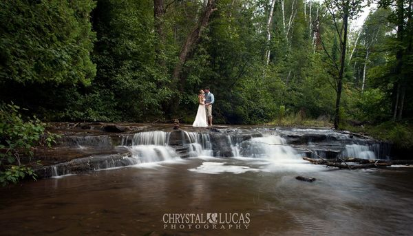 """""""Ali and Matt's small, intimate wedding on the shores of Lake Superior."""" - Chrystal Chartier"""