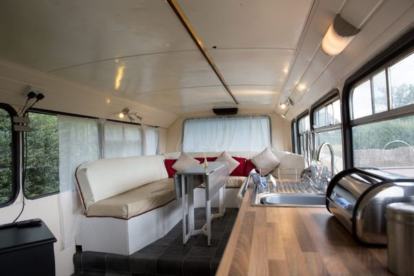 This Family Morphed A Double Decker Bus Into The Ultimate