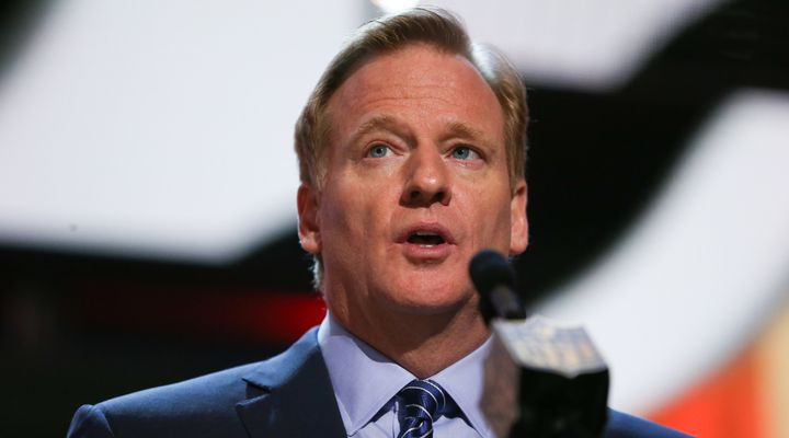 NFL Commissioner Roger Goodell says he is open to changing his role in the league's disciplinary proceedings.