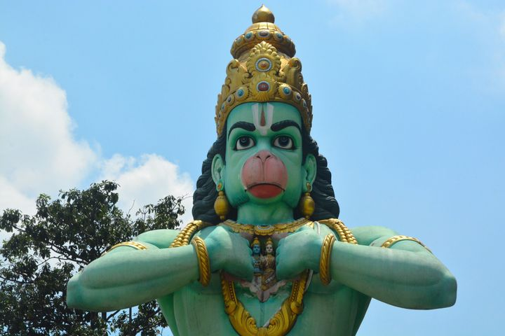 A bid to place a tribute to the Hindu god Hanuman on Arkansas state Capitol grounds was rejected in August.