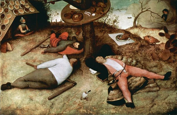"<a href=""https://commons.wikimedia.org/wiki/File:Pieter_Bruegel_d._%C3%84._037-color.jpg"">Pieter Brueghel the Elder, ""The Lan"