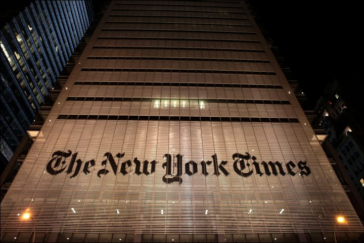 The New York Times said it would be a mistake to raise interest rates in an editorial published Monday.