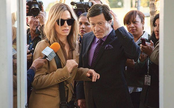 "Sandra Bullock is heading to Bolivia to win an election. In David Gordon Green's ""Our Brand Is Crisis,"" Bul"