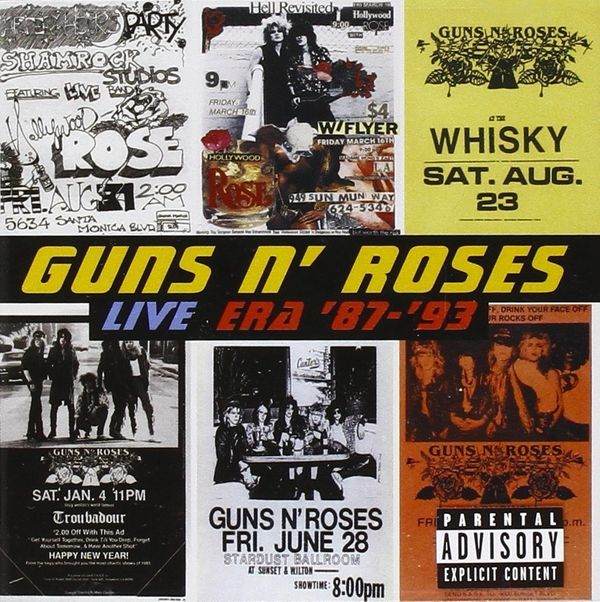 """The album that got me through my divorce? Guns N' Roses' 'Live Era '87-'93.' Sometimes you're just angry and need to hear so"