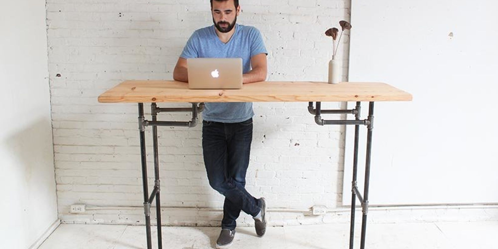 How To Make Your Own Standing Desk | The Huffington Post