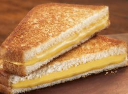 This Is How You Eat Grilled Cheese For Breakfast