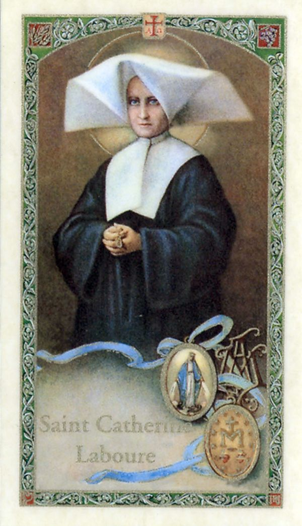 the story of saint catherine laboure essay St catherine laboure and the miraculous medal by: 16 year olds tells the story of catherine st catherine labouré lived a life of prayer and service.