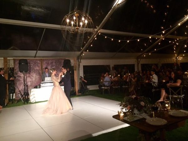 """""""Cameron and Addysen got married at Crooked Willow Farms in Lakspur, Colorado."""" - Natalie Chitayat"""