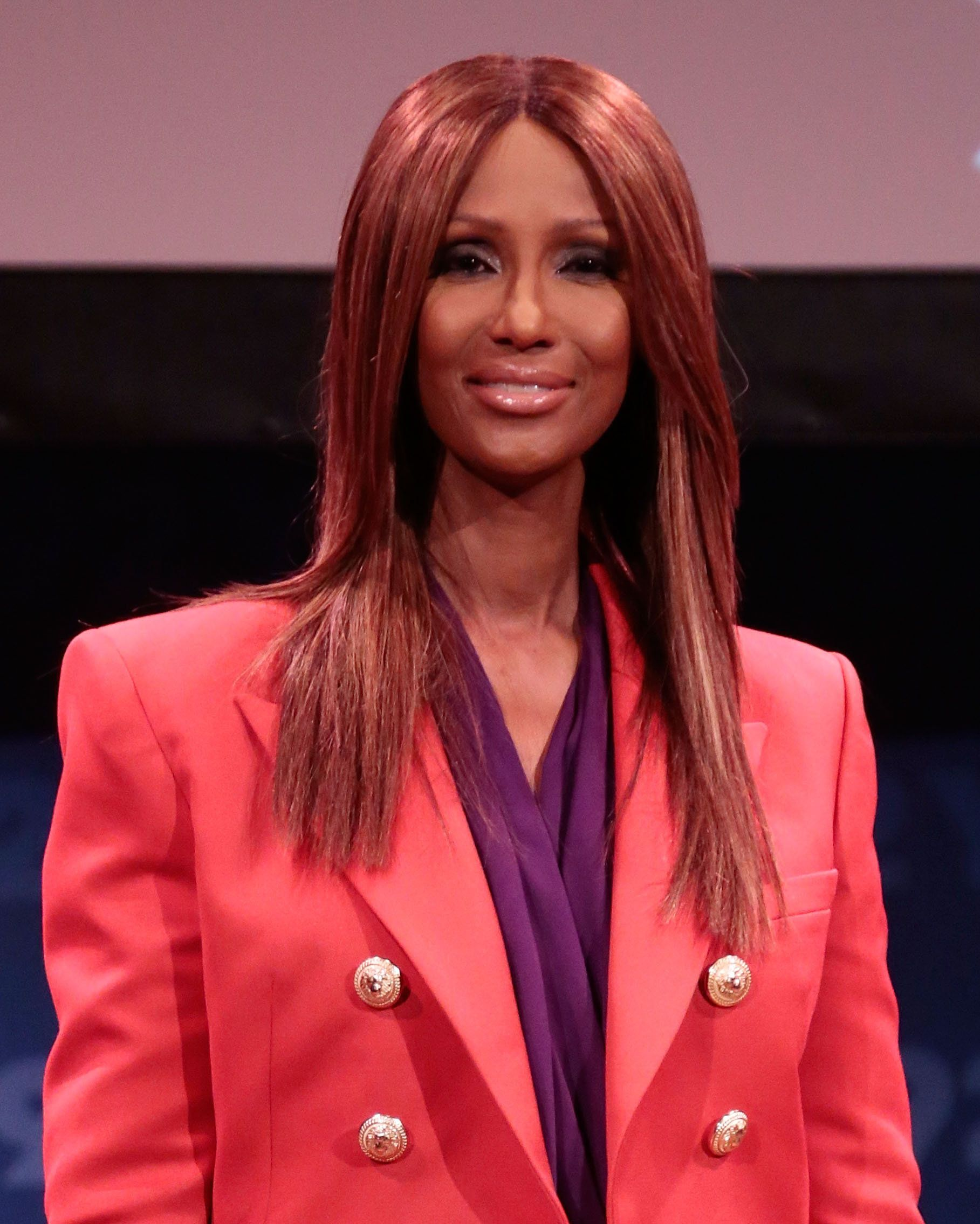 NEW YORK, NY - SEPTEMBER 08:  Iman attends 'Fashion Icons with Fern Mallis' at 92nd Street Y on September 8, 2015 in New York City.  (Photo by Taylor Hill/Getty Images)