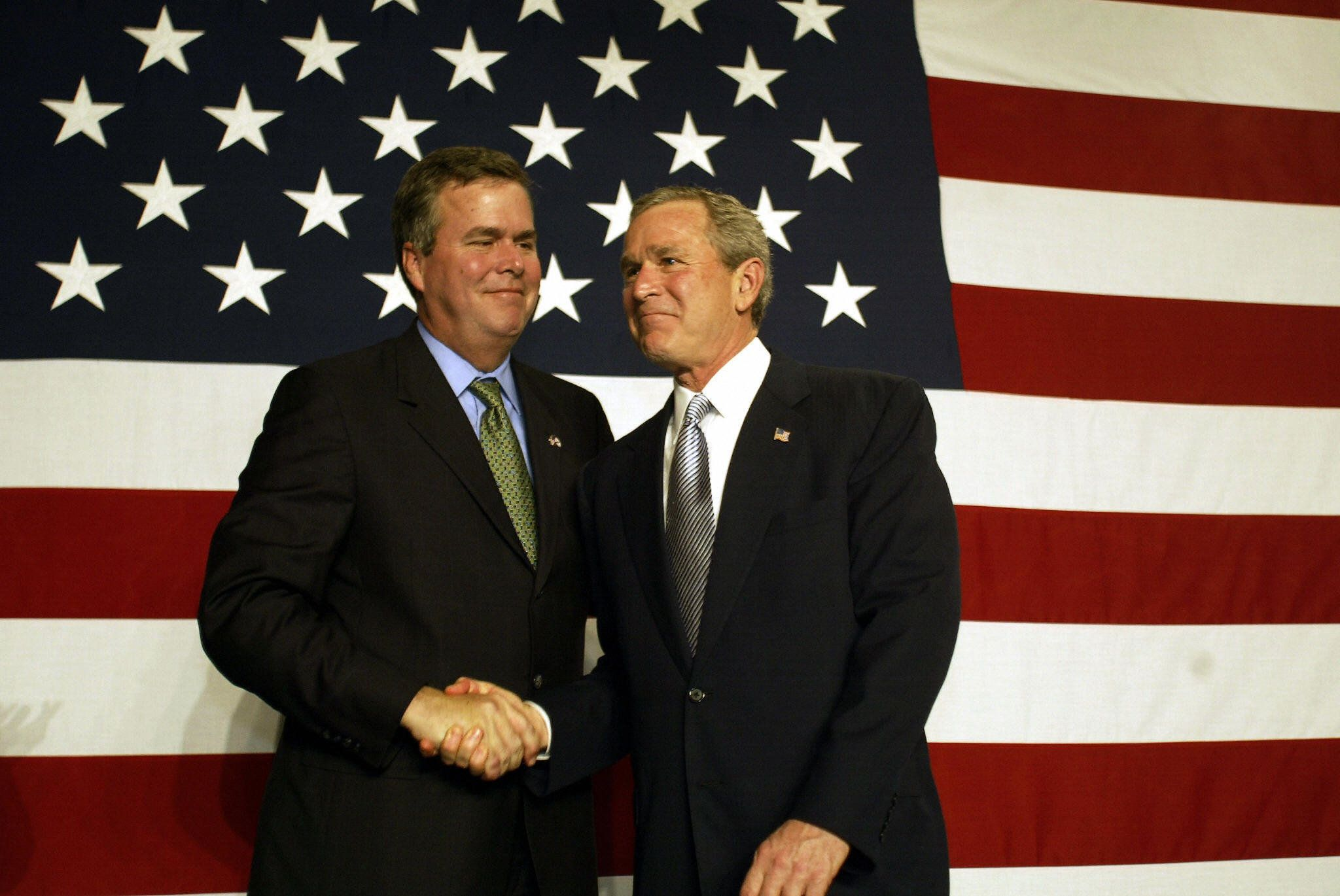 Jeb Bush's tax plan sounds like something his brother George would approve.