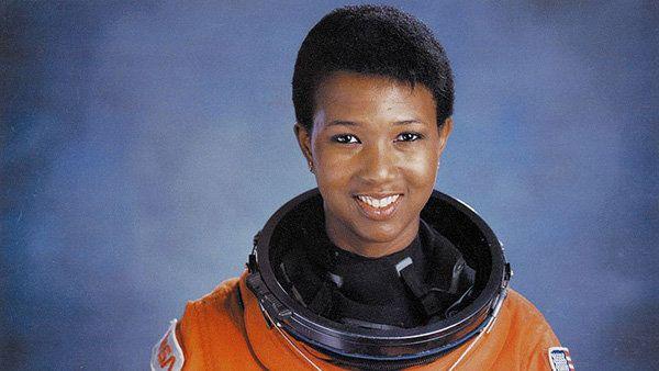 Portrait of Mae Jemison taken at NASA in 1992.
