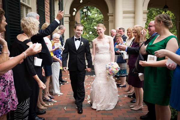 """""""Nora and Seth were married over Labor Day weekend at The Carolina Inn in Chapel Hill, North Carolina."""" - Robin Lin"""