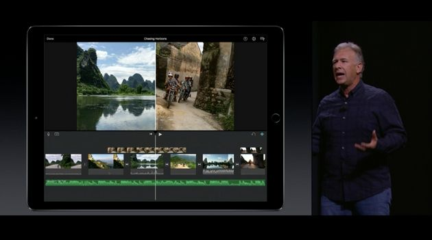 Phil Schiller, Apple's senior vice president of worldwide marketing, describes the company's newest iPad...