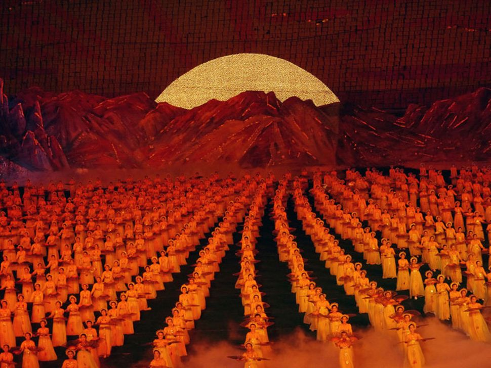 The Arirang festival in Pyongyang.