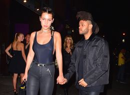 Bella Hadid And The Weeknd Hold Hands After Night Out In NYC