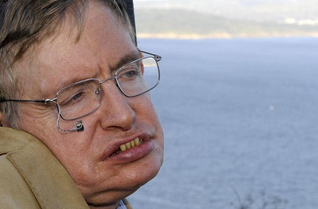 Stephen Hawking on a trip to Cape Finisterre in Spain in 2008. The scientist married and divorced twice...