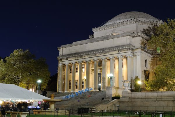 The LowMemorial Library on the campus of Columbia University.