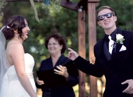 This Groom Turned His Wedding Vows Into A 'Grease' Sing-Along
