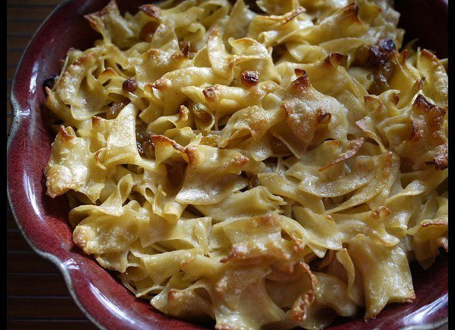 "<strong>Get the <a href=""https://www.huffpost.com/entry/simple-noodle-kugel_n_1048750"" target=""_hplink"">Simple Noodle Kugel</"