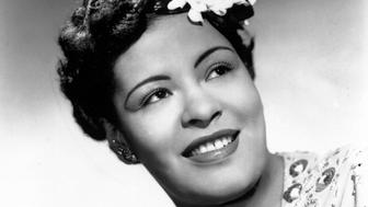 CIRCA 1939: Jazz singer Billie Holiday poses for a portrait in circa 1939 with a flower in her hair. (Photo by Michael Ochs Archives/Getty Images)