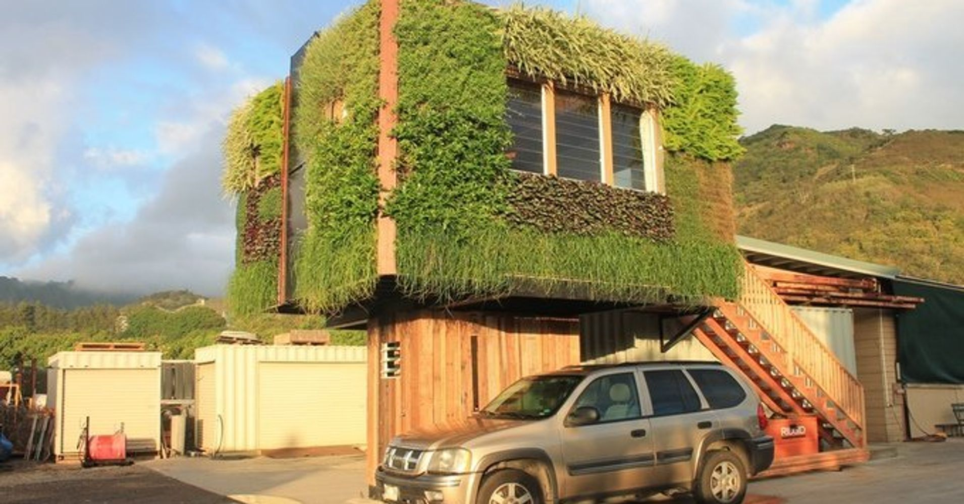 Sustainable 39 tree house 39 could come to a parking lot near you huffpost - Elevate the sustainable house ...