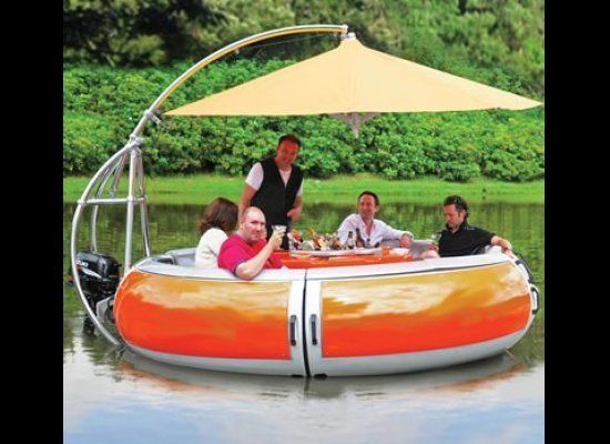 Impress your friends who don't own yachts with this cozy, all-in-one, floating party boat! Or, put a down payment on a house!