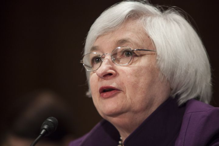 Janet Yellen, chair of the Federal Reserve Board of Governors, heads the central bank committee that will decide whether to r