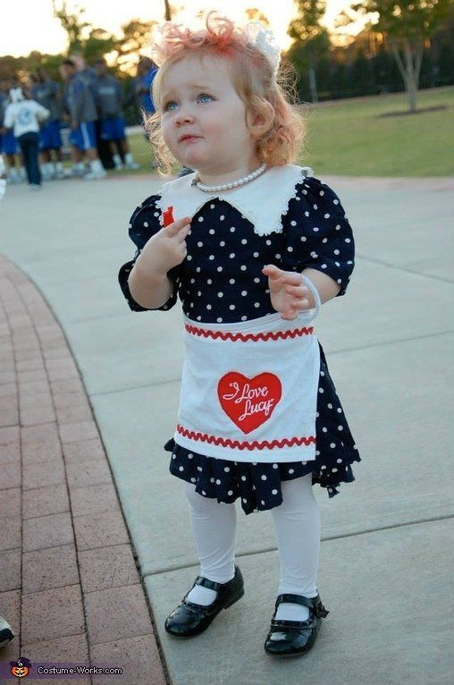 16 adorable halloween costume ideas for redheaded kids huffpost lucille ball halloween costume - I Love Lucy Halloween Costumes